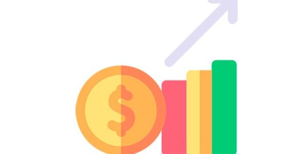 آیکون با مفهوم رشد کسب و کار و تجارت
