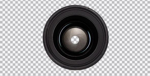 تصویر PNG لنز دوربین عکاسی