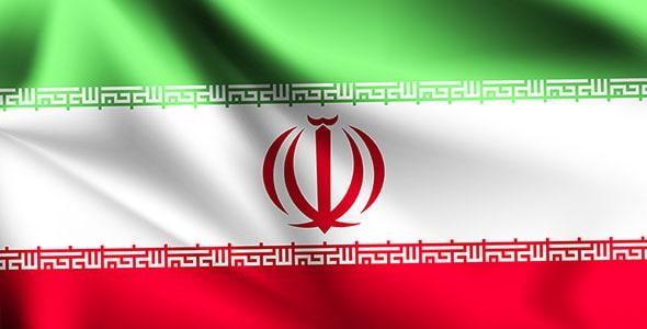 وکتور تصویرسازی طرح موج دار پرچم ایران