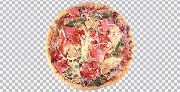 تصویر PNG پیتزا و فست فود
