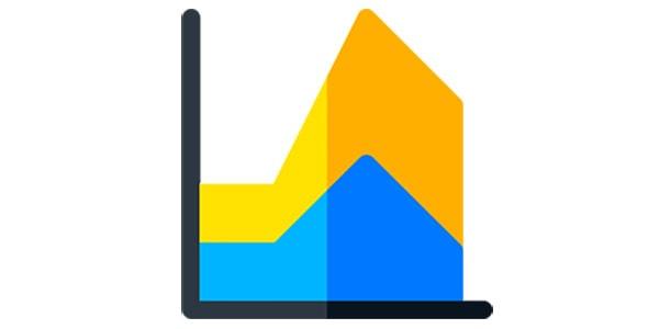 آیکون نمودار و آمار