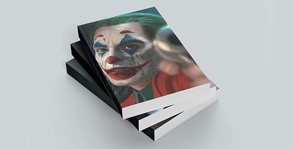 فایل لایه باز موکاپ مجموعه کتاب روی هم