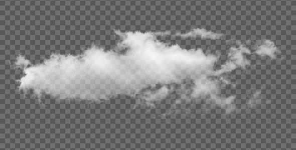 تصویر PNG ابر پراکنده