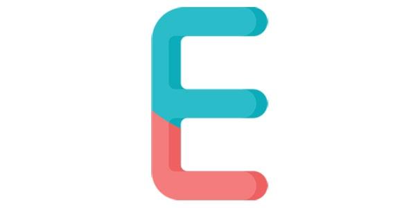 آیکون حرف E الفبای انگلیسی
