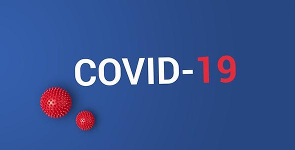 تصویر پس زمینه ویروس کرونا Covid-19