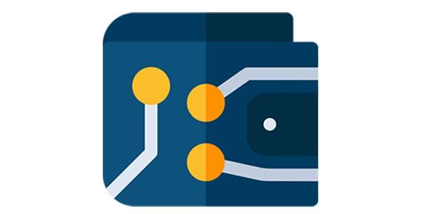 آیکون والت یا کیف پول ارز دیجیتال