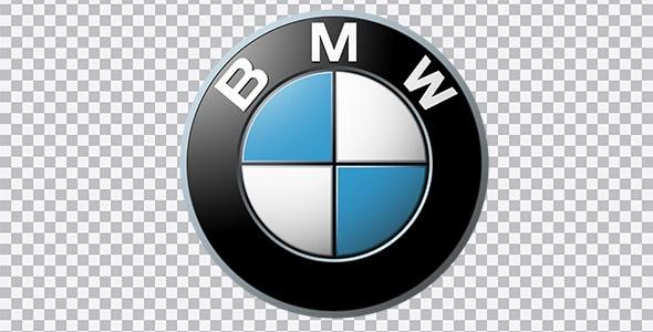 تصویر PNG آرم و لوگو BMW بی ام و