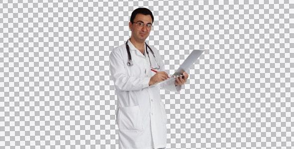 تصویر PNG انسان و دکتر مرد