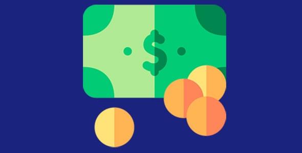آیکون اسکناس دلار و سکه