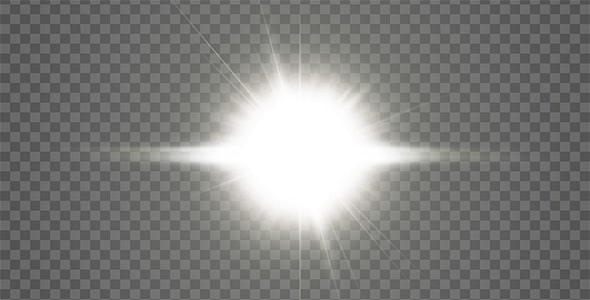 تصویر PNG بازتاب نور خورشید