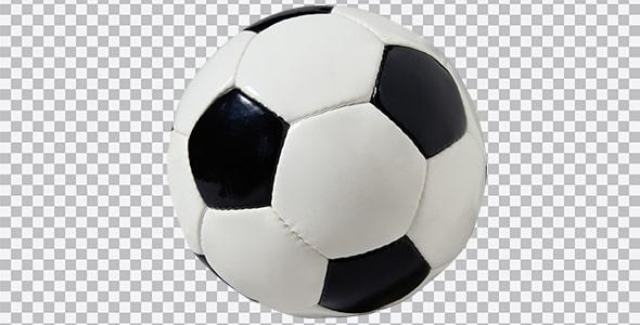 تصویر PNG توپ چهل تیکه فوتبال