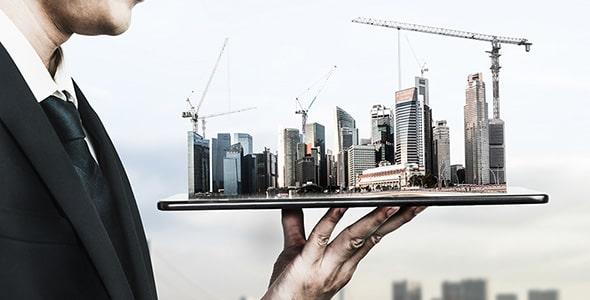 تصویر پس زمینه مفهوم معماری و مهندس عمران