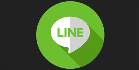 آیکون لوگو لاین line