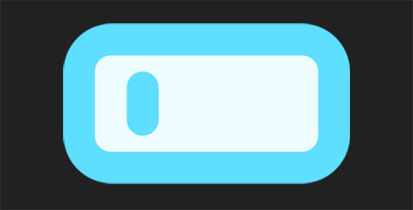 آیکون باتری کم یا low battery