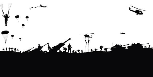 وکتور بازی و ضدنور ارتش زمینی در جنگ