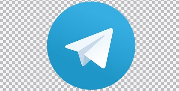 تصویر PNG آیکون و لوگو تلگرام