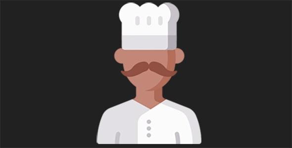 آیکون آواتار مرد سرآشپز