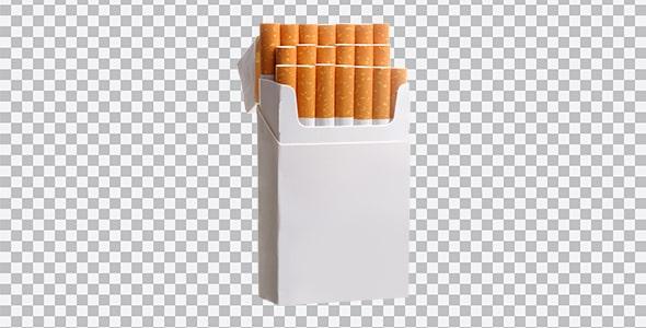 تصویر PNG پاکت سیگار