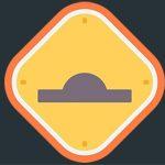 آیکون تابلو راهنمایی سرعت گیر