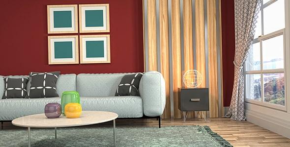 تصویر دکوراسیون و طراحی اتاق نشیمن