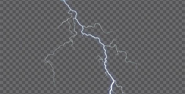 تصویر PNG رعد و برق