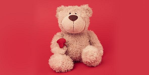 تصویر پس زمینه عروسک و خرس ولنتاین