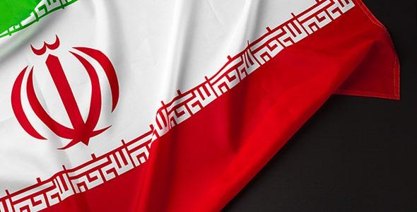 تصویر پس زمینه پرچم پارچه ای ایران