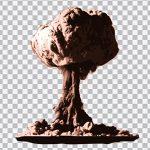 تصویر PNG انفجار اتمی