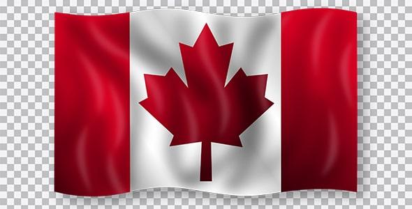 تصویر PNG پرچم کشور کانادا
