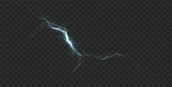 تصویر PNG نور رعد و برق