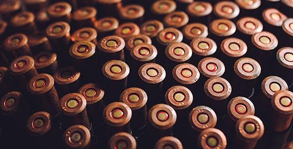 تصویر مجموعه گلوله کالیبر 7.62 قدیمی