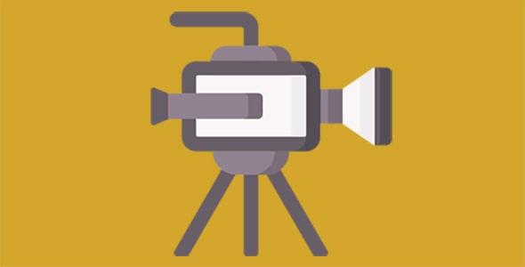آیکون دوربین فیلمبرداری