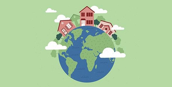 وکتور بنر فارسی روز جهانی معماری