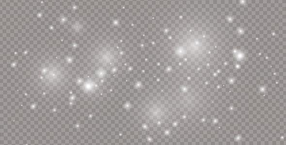 وکتور افکت ستاره درخشان و نورانی