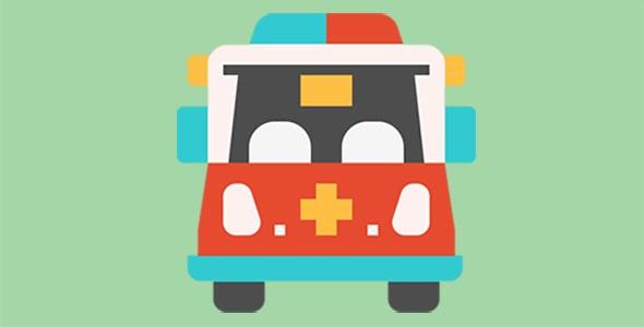 آیکون ماشین آمبولانس