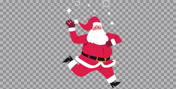 تصویر PNG بابانوئل و کریسمس