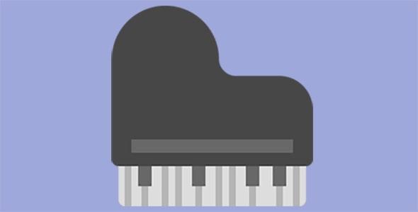 آیکون پیانو بزرگ