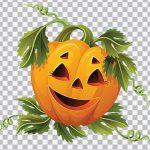 تصویر PNG ترنسپرنت کدو هالووین