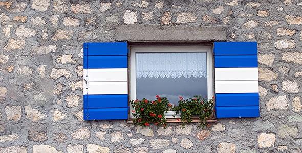 تصویر پنجره باز در کشور ایتالیا